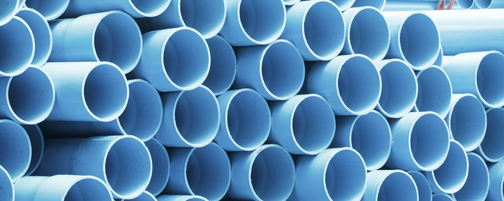 Is the water quality of your network affected by the PVC in plastic pipes?