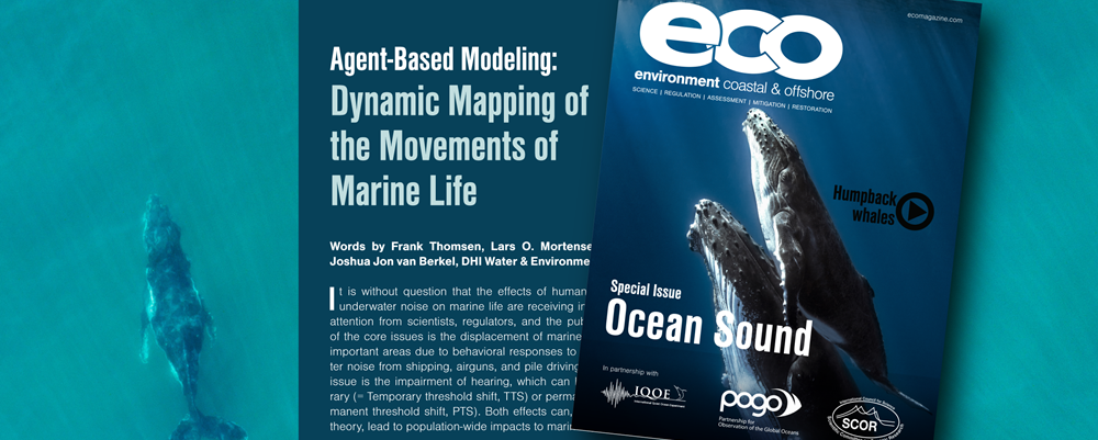 Agent-based modelling: Dynamic mapping of the movements of marine life