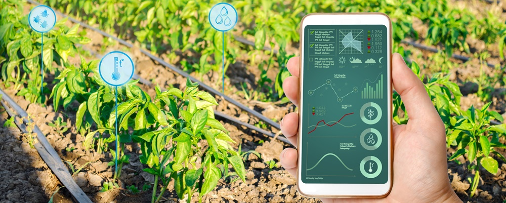 What role can smart irrigation play in today's agricultural sector?
